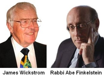 James Wickstrom | Zionist Rabbi Abe Finkelstein